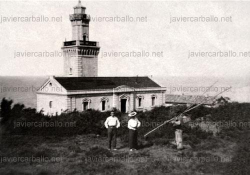 1905 José Carballo Tenorio y Juana Vidal Bonilla – Faro de Hondarribia (Gipuzkoa)