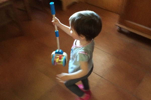 Test de juguetes: Arrastre formas y Robot cepillo