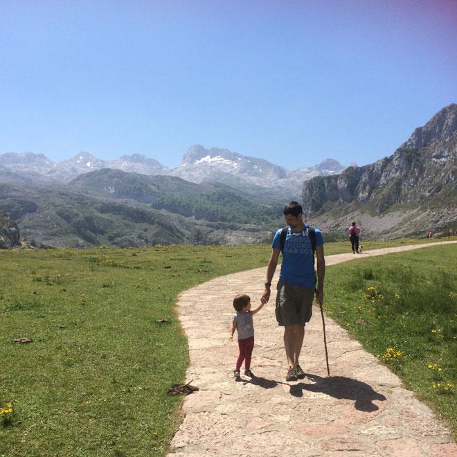 Paseando en los Lagos de Covadonga
