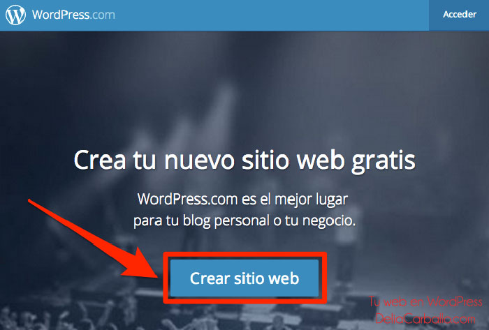 Tu web en WordPress - Delia Carballo
