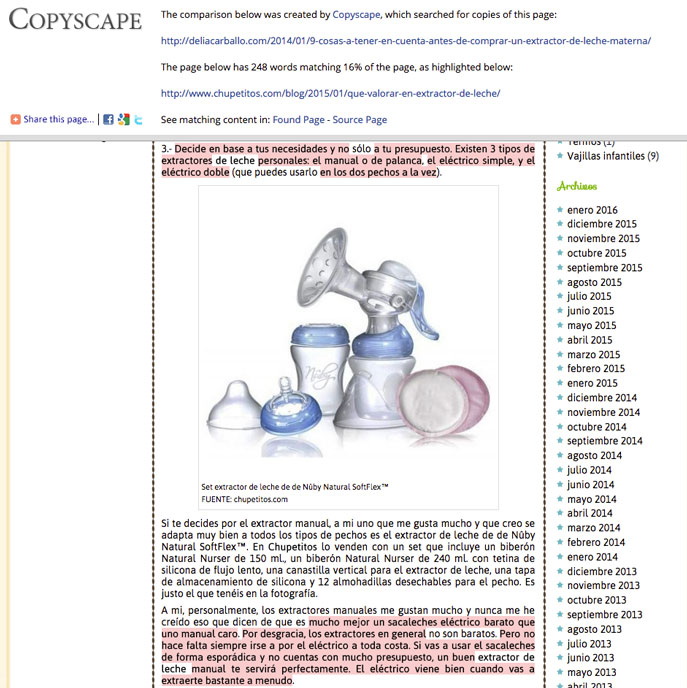plagio chupetitos.com